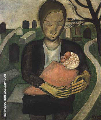 Mother and Child 1930 Painting By Alice Neel - Reproduction Gallery
