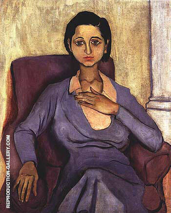 Fanya 1930 Painting By Alice Neel - Reproduction Gallery