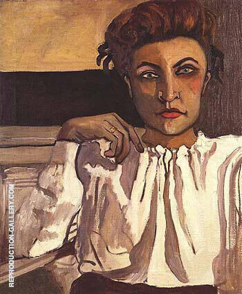 Elenka 1936 By Alice Neel
