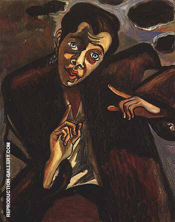 Bessie Boris 1940 By Alice Neel Replica Paintings on Canvas - Reproduction Gallery