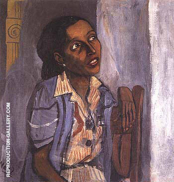 Mercedes Arroyo 1952 Painting By Alice Neel - Reproduction Gallery