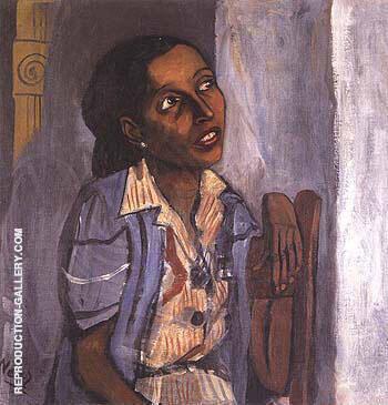 Mercedes Arroyo 1952 By Alice Neel