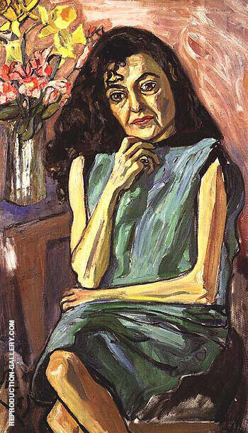Spanish Woman 1950 By Alice Neel