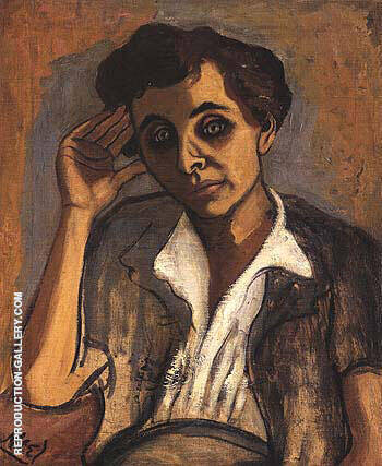 Sarah Shiller 1952 Painting By Alice Neel - Reproduction Gallery