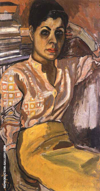 Mimi 1955 Painting By Alice Neel - Reproduction Gallery