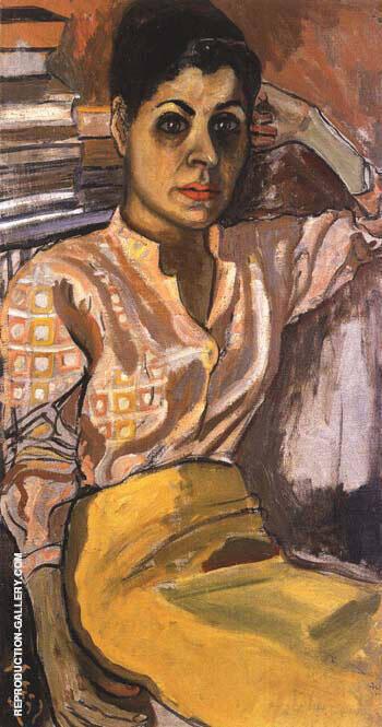 Mimi 1955 By Alice Neel