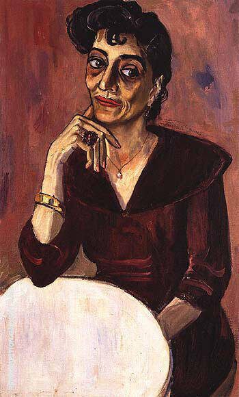 Elsie Rubin 1958 Painting By Alice Neel - Reproduction Gallery