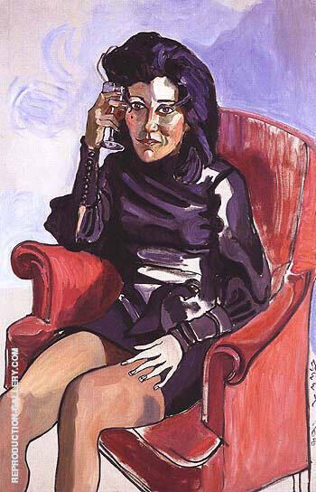Marilyn Rabinowich 1968 By Alice Neel
