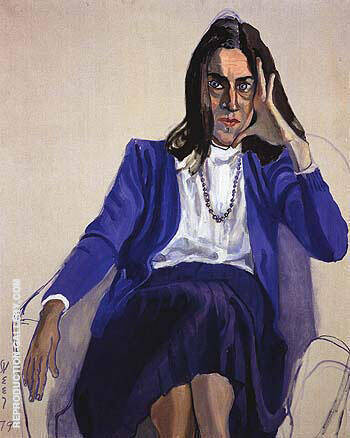 Betsy 1979 By Alice Neel Replica Paintings on Canvas - Reproduction Gallery