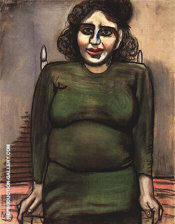 Blanche Angel Pregnapt 1937 Painting By Alice Neel - Reproduction Gallery