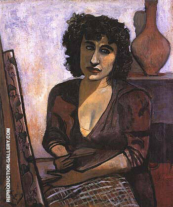 Dorothy Koppelman 1944 Painting By Alice Neel - Reproduction Gallery