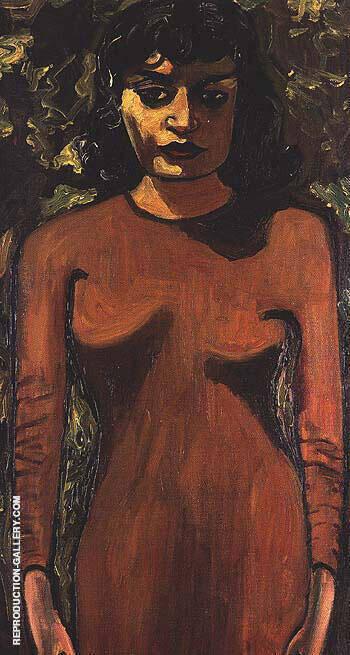 Dick Bagiey's Girlfriend 1946 By Alice Neel