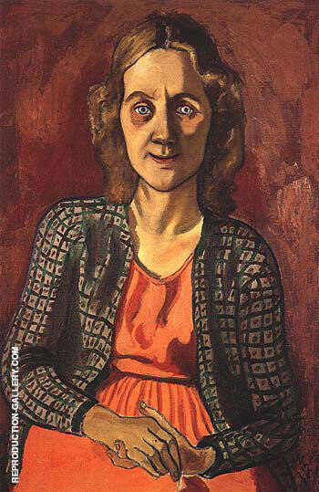 Beulah Heibel 1947 Painting By Alice Neel - Reproduction Gallery