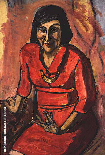 Lida 1962 Painting By Alice Neel - Reproduction Gallery