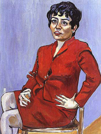 Geza's Wife 1964 Painting By Alice Neel - Reproduction Gallery
