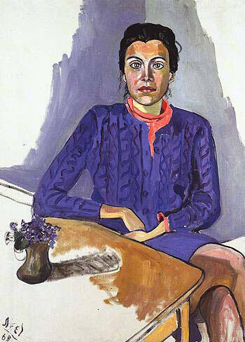 Nancy 1968 By Alice Neel Replica Paintings on Canvas - Reproduction Gallery