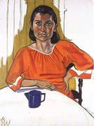 Leah 1968 By Alice Neel