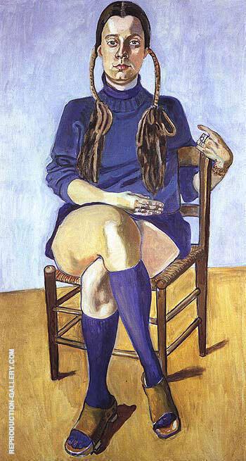 Vera Beckerhoff 1976 By Alice Neel
