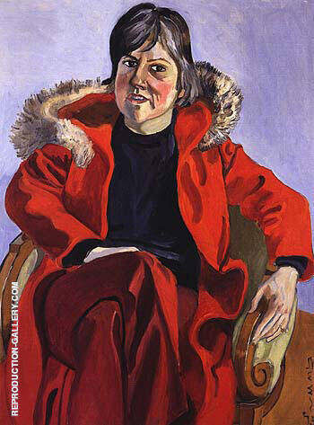 Mary Beebe 1975 Painting By Alice Neel - Reproduction Gallery