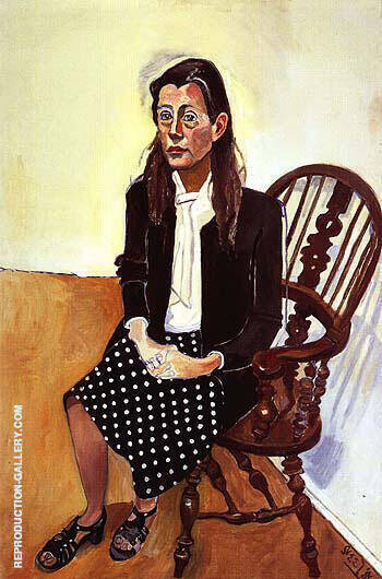 Nancy 1981 Painting By Alice Neel - Reproduction Gallery