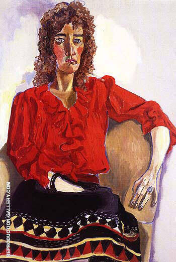 Catherine Jordan 1983 By Alice Neel Replica Paintings on Canvas - Reproduction Gallery