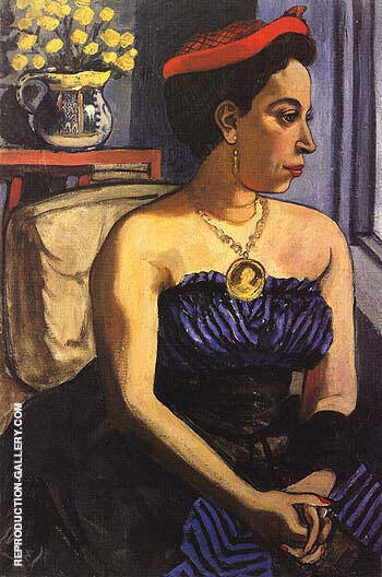 Alice Childress 1950 Painting By Alice Neel - Reproduction Gallery