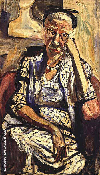 The Baron's Aunt 1959 By Alice Neel