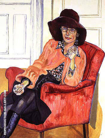 Susan Rossen 1976 By Alice Neel