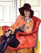 Susan Rossen 1976 By Alice Neel