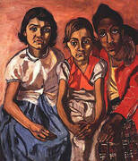Three Puerto Rican Girls 1955 By Alice Neel