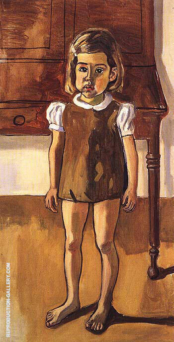 Olivia 1970 Painting By Alice Neel - Reproduction Gallery