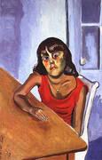 Antonia 1979 By Alice Neel