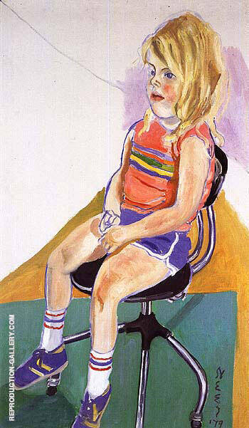 Victoria 1979 By Alice Neel