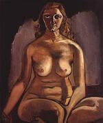 Winifred Messmer 1940 By Alice Neel