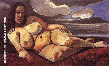 Sue Seely Nude 1943 By Alice Neel