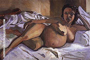 Pregnant Maria 1964 Painting By Alice Neel - Reproduction Gallery