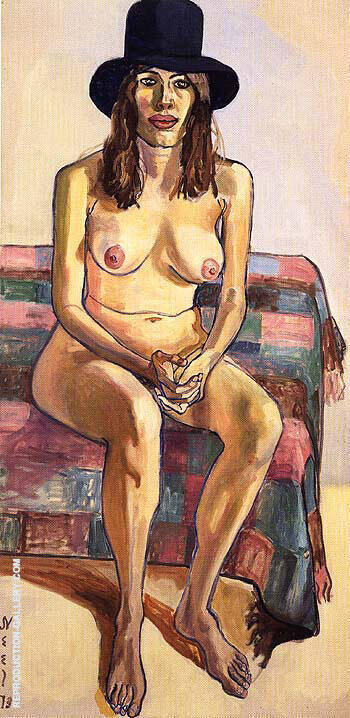 Kitty Pearson 1973 By Alice Neel