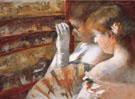 In the Box 1879 By Mary Cassatt