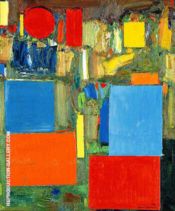 Pre Dawn By Hans Hofmann - Oil Paintings & Art Reproductions - Reproduction Gallery