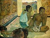 Te Rerioa 1897 The Dream By Paul Gauguin