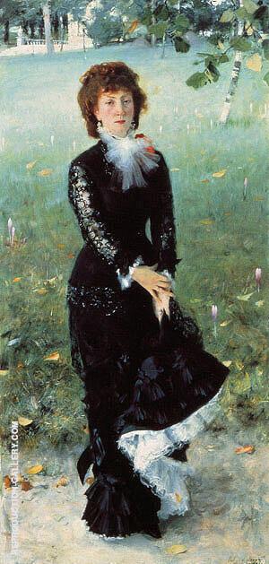 Madame Edouard Pailleron 1879 By John Singer Sargent