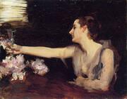 Madame Gautreau Drinking A Toast 1883 By John Singer Sargent