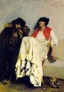 The Sulphur Match 1882 By John Singer Sargent