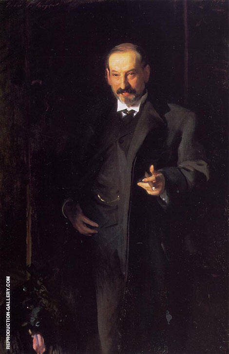 Asher Wertheimer 1898 By John Singer Sargent - Oil Paintings & Art Reproductions - Reproduction Gallery