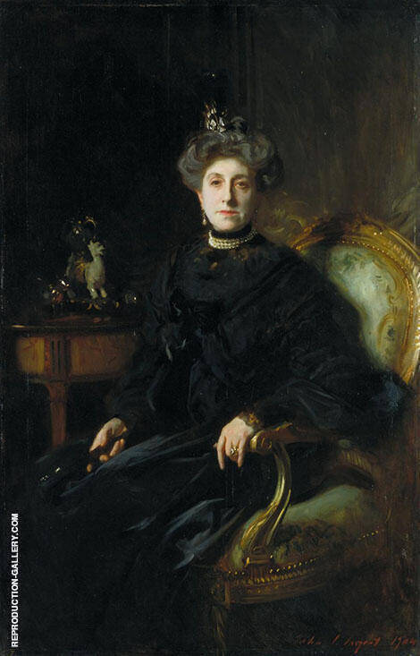 Mrs Wertheimer 1904 By John Singer Sargent