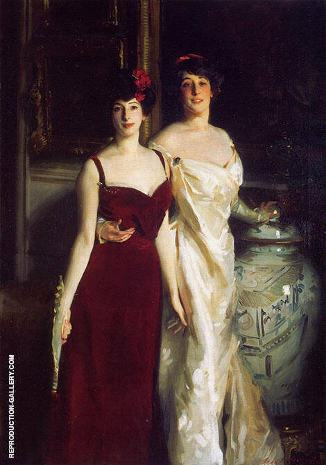 Ena and Betty Daughters of Asher and Mrs Wertheimer 1901 By John Singer Sargent