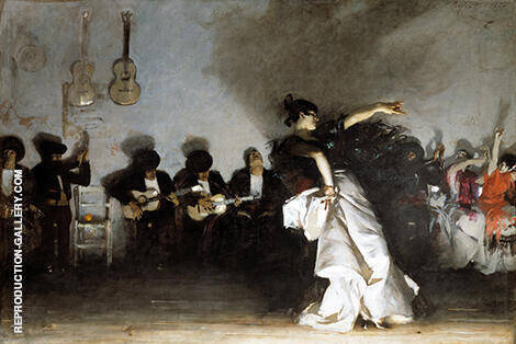 El Jaleo 1882 Painting By John Singer Sargent - Reproduction Gallery