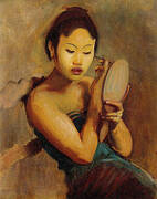 A Javanese Girl at Her Toilet 1889 By John Singer Sargent
