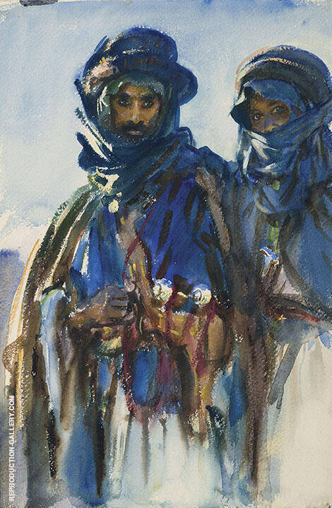 Reproduction of Bedouins c1905 by John Singer Sargent | Oil Painting Replica On CanvasReproduction Gallery
