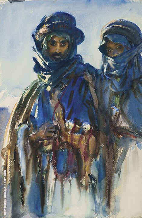 Bedouins c1905 By John Singer Sargent